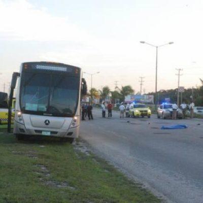 Muere atropellada una persona frente a la Universidad La Salle de Cancún