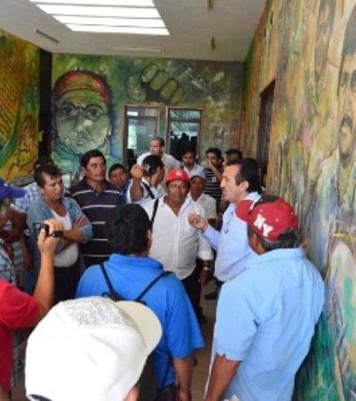 ZONA MAYA, ESTRANGULADA: Cortan la energía eléctrica al Palacio Municipal de JMM y empleados se amotinan por adeudos