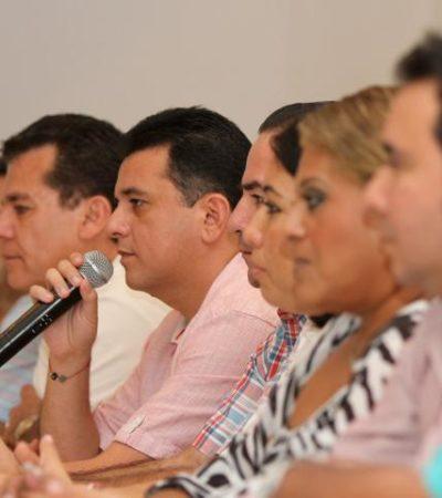 REGRESAN UNOS Y OTROS REPITEN: Anuncia Fredy Marrufo nombres de nuevos funcionarios de Cozumel