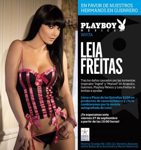 "Rechazan ayuda de Playboy para damnificados de tormentas por no ser ""digna"""