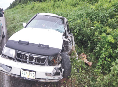 Muere guardia presidencial en carretera de Bacalar durante sus vacaciones