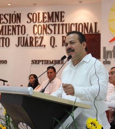 RINDE JULIÁN ÚLTIMO INFORME: Destaca Alcalde legado de obra pública de calidad sin aumentar la deuda pública en BJ