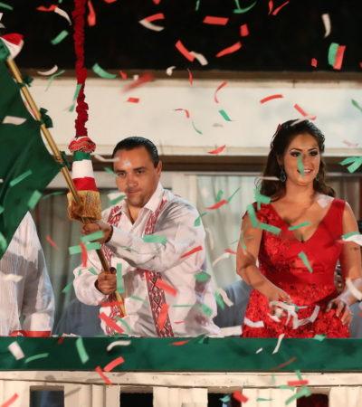 ¿TEMOR A DAR LA CARA?: Tras el fiasco del Informe, analiza Gobierno de Borge cancelar El Grito y el desfile militar para evitar protestas de maestros