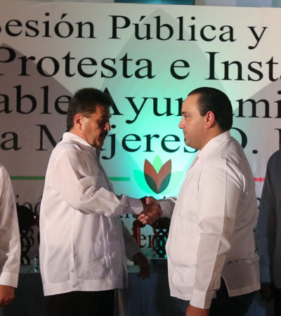 ECLIPSE PRIISTA SOBRE QR: Termina era de equilibrio político y asumen 10 Alcaldes del PRI control total de municipios