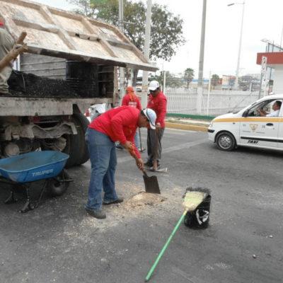¿BACHEO, CAJA CHICA DE BORGE?: Entre 2012 y 2013 destinan casi 33 mdp para rehabilitar calles en Chetumal… pero siguen tan deterioradas como al principio