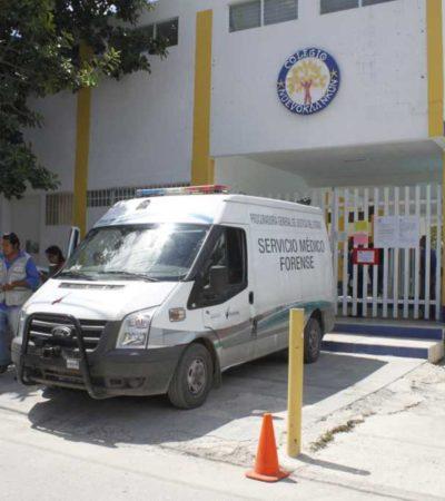 Muere niño de 5 años en colegio de Cancún al atragantarse por comer uvas; clausuran instalaciones