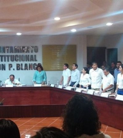 SE FIRMA ABUXAPQUI 'CHEQUE EN BLANCO': Votan regidores del PAN en contra del Presupuesto de OPB por 80 mdp que quedan 'bailando'
