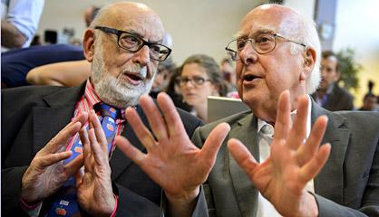 Dan Nobel de Física a Englert y Higgs, por la teoría del bosón de Higgs