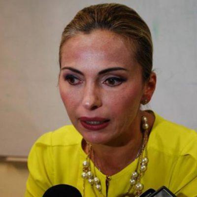 Rompeolas: Poco efusivos jefes del PRI con el ascenso de Sara Latife