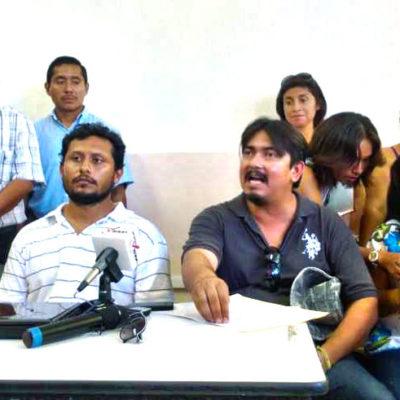 MAESTROS EN PIE DE LUCHA: Insisten en renuncia de Sara Latife para retomar el diálogo con Borge y van por denuncia contra Paul Carrillo por desalojo violento; ofrecen a Cancún para movilización regional
