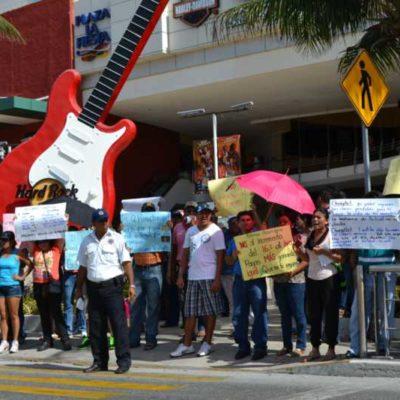 PROTESTAS, SÓLO EN REDES: Deciden maestros de QR no manifestarse en el Tianguis Turístico