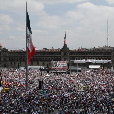 PIDE AMLO FRENTE COMÚN: Llama Obrador a PAN y PRD a votar contra las reformas fiscal y energética y convoca a un 'apagón' contra alza de la gasolina
