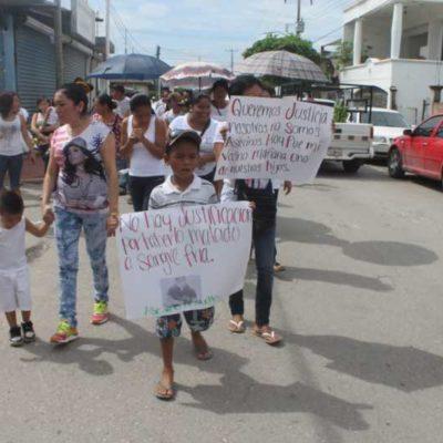EXIGEN JUSTICIA POR ASESINATO: Vecinos de Payo Obispo marchan para demandar castigo para policía que mató a un joven a mansalva