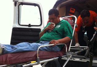 Intentan ejecutar en Calderitas a un aduanero de Belice; recibe un balazo