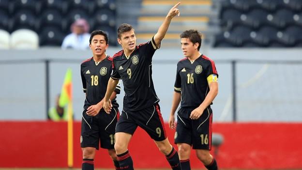 Vence México 2-0 a Italia y avanza a cuartos de final en el Mundial Sub-17