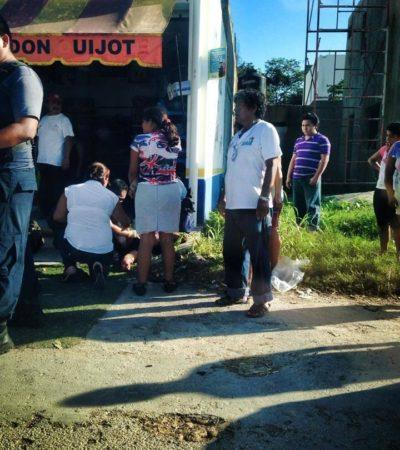 MATAN A MUJER DURANTE ROBO: Asesinan a dependiente de tienda de abarrotes en Chetumal pese a no resistirse al asalto; detienen a jovenzuelo