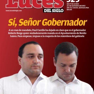 PAUL CARRILLO, EL 'OBEDIENTE': Documenta revista servilismo de Alcalde con Borge a costa de la autonomía del Gobierno de Cancún