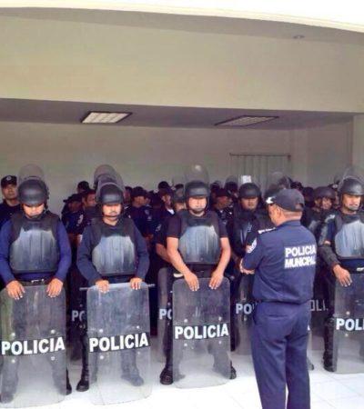 MAESTROS LE DAN LA VUELTA A LA REPRESIÓN: Toman simbólicamente la SEyC en Cancún, pero ante llegada de antimotines, incursionan en la Zona Hotelera, bloquean salidas a Mérida y a Playa y entregan amparos contra reforma educativa; Borge, de viaje