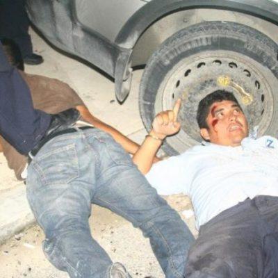 ESCAPA SECUESTRADOR: Peliculesca persecución en Playa para atrapar a delincuente que se escabulló brincando bardas y azoteas; detienen a 2 cómplices