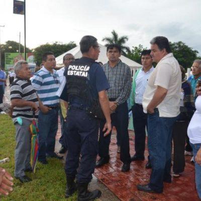 CRECE PARO MAGISTERIAL: Maestros de Solidaridad y FCP se suman a Bacalar y OPB y suspenden clases por acuerdos incumplidos de Borge