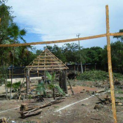 POLÉMICA EN TULUM: Desmontan área verde para negocios de comida rápida en las inmediaciones de la zona arqueológica