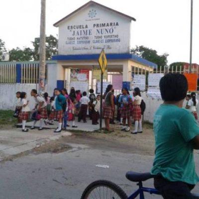 CEDEN ANTE PRESIÓN DE PADRES: Tras amarrar a un inspector escolar, envían maestro a primaria