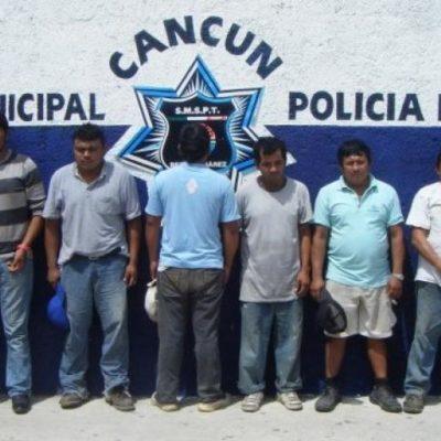 Liberan a chatarreros implicados en presunto robo de luminarias del Ayuntamiento de BJ