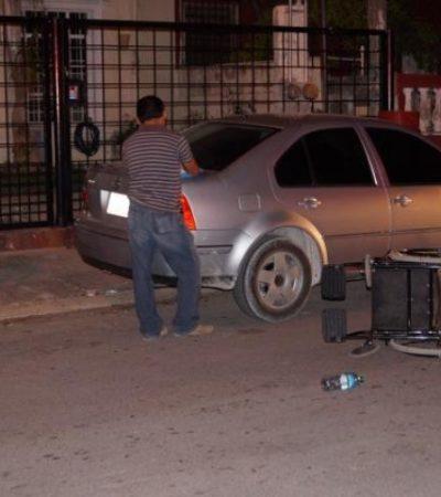 A mano armada, roban más de 3 mdp a trabajadores de constructora en Cancún