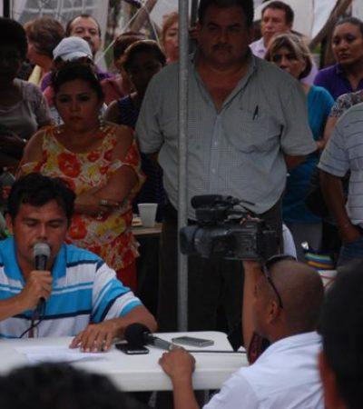 Condenan maestros violento desalojo en Nicolás Bravo
