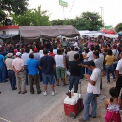 NO HAY FECHA PARA RETORNAR A CLASES: Maestros continuarán protestas hasta que el Gobernador los atienda