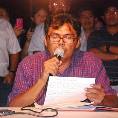 "Rechazan maestros 'Comisión Interventora' de Borge por 'unilateral': ""Hoy con tristeza vemos que no hay voluntad"", lamentan"