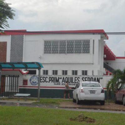Intentan reanudar clases en algunas escuelas de Chetumal, pero se topan con candados
