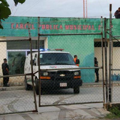 Trasladan a dos reos del penal de FCP al Cereso de Chetumal