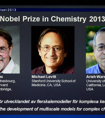 Ganan el Nobel pioneros de la química computacional