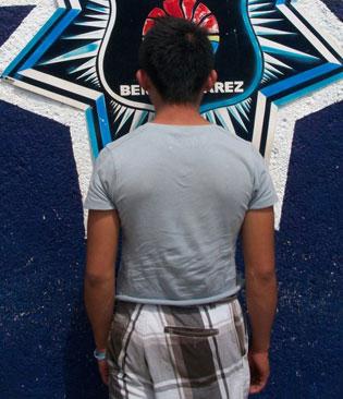 Detienen a presunto 'halcón' de 16 años en Cancún