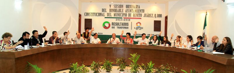 Sin Paul Carrillo, aprueba Cabildo de BJ convocatoria para elección de comités de vecinos