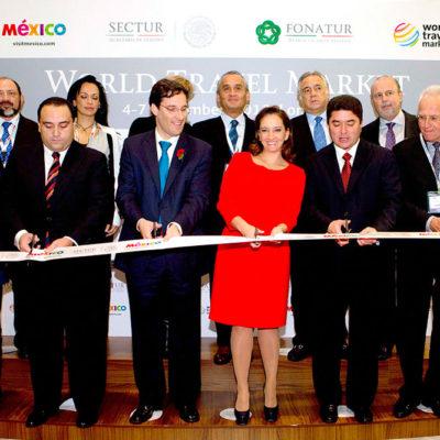 Inaugura la secretaria de Turismo pabellón de México en Feria Turística de Londres