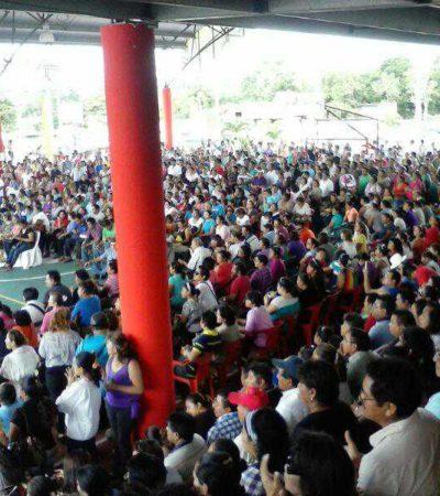 VAN POR LA DIRIGENCIA DEL SNTE: 'Tumbar' a líderes 'charros', el próximo objetivo de maestros en QR