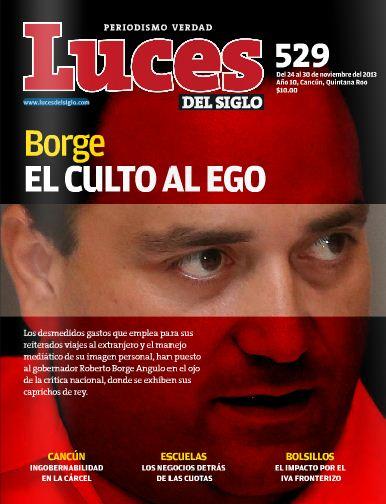 PERFIL DE UN REYEZUELO: Ególatra, intolerante, protagónico, farandulero, corrupto, sin liderazgo real… así pintan a Borge en revista