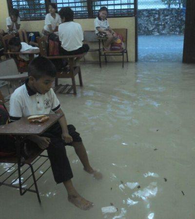 Darán recursos para Cancún del Fonden por recientes lluvias