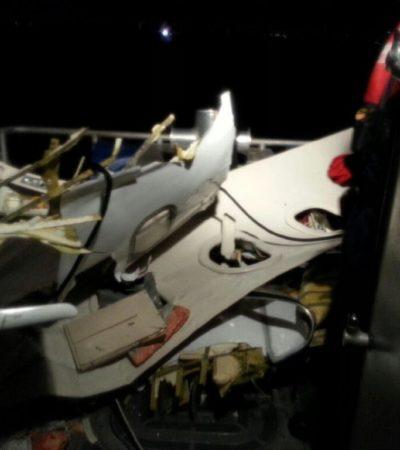 ACCIDENTE AÉREO: Se estrella Learjet 35 con 4 personas que despegó de Fort Lauderdale con destino a Cozumel; cuñado del ex Alcalde Aurelio Joaquín, entre los tripulantes