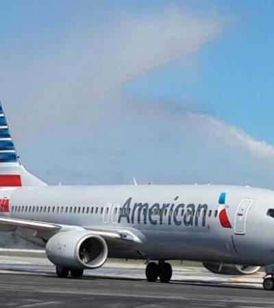 Reanuda American Airlines ruta Miami-Cozumel luego de 4 años