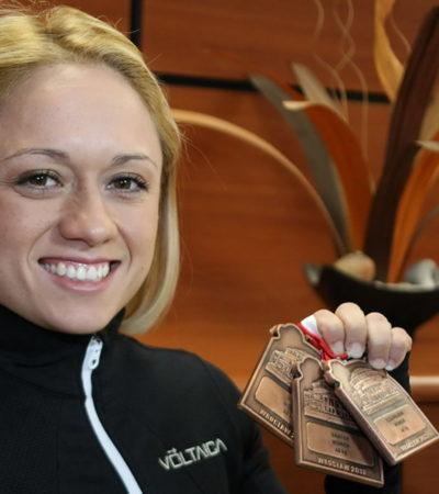 CAROLINA VALENCIA, EN LISTA DE FORBES: La halterista chetumaleña, entre los 15 deportistas con más apoyo económico