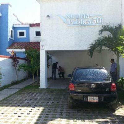 Atracan otra notaría en Cancún