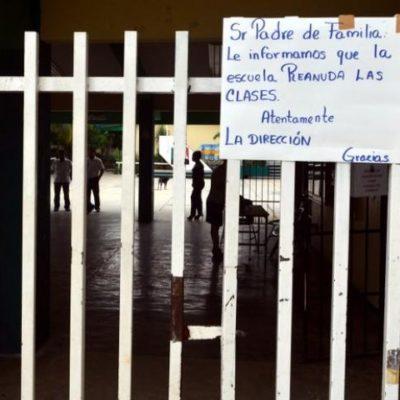 """NO PAGARÁN AL MAGISTERIO: Por """"problemas con el servidor"""", incumplen compromiso de pagar quincenas atrasadas a maestros este viernes"""