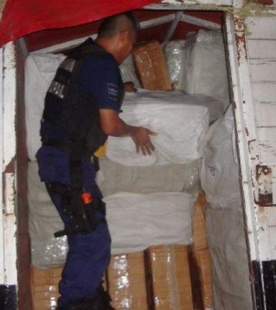 Atajan contrabando de 'piratería' en Bacalar