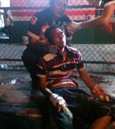 Atado de pies y manos y fuertemente golpeado, pero vivo, hallan en la SM 64 a joven 'levantado'; estuvo 3 días secuestrado en bodega del Diario de Yucatán