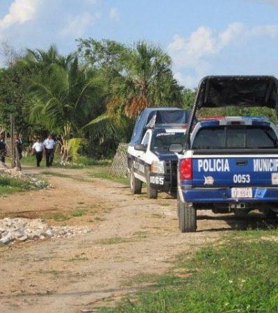 Encuentran en Calderitas maquinaria presuntamente robada en Belice