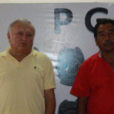 Detienen a ex funcionario y lo implican en el presunto robo de luminarias del alumbrado público en Cancún