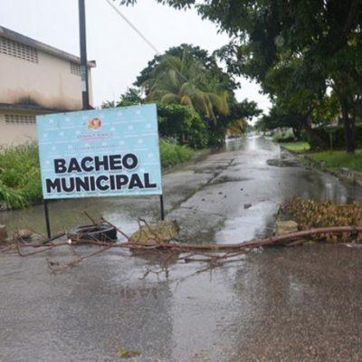 Cierran a la circulación al menos 10 tramos de calles destrozadas en Chetumal